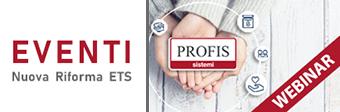 Webinar PROFIS / Enti Terzo Settore